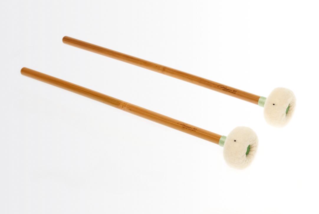 IKN Timpani Mallets-Very Soft Sound Felt Core Head Wooden Shaft