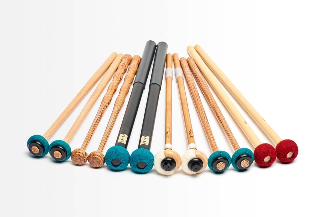 Tom Freer FDS4B 50//50 General//Bamboo Timpani Mallets