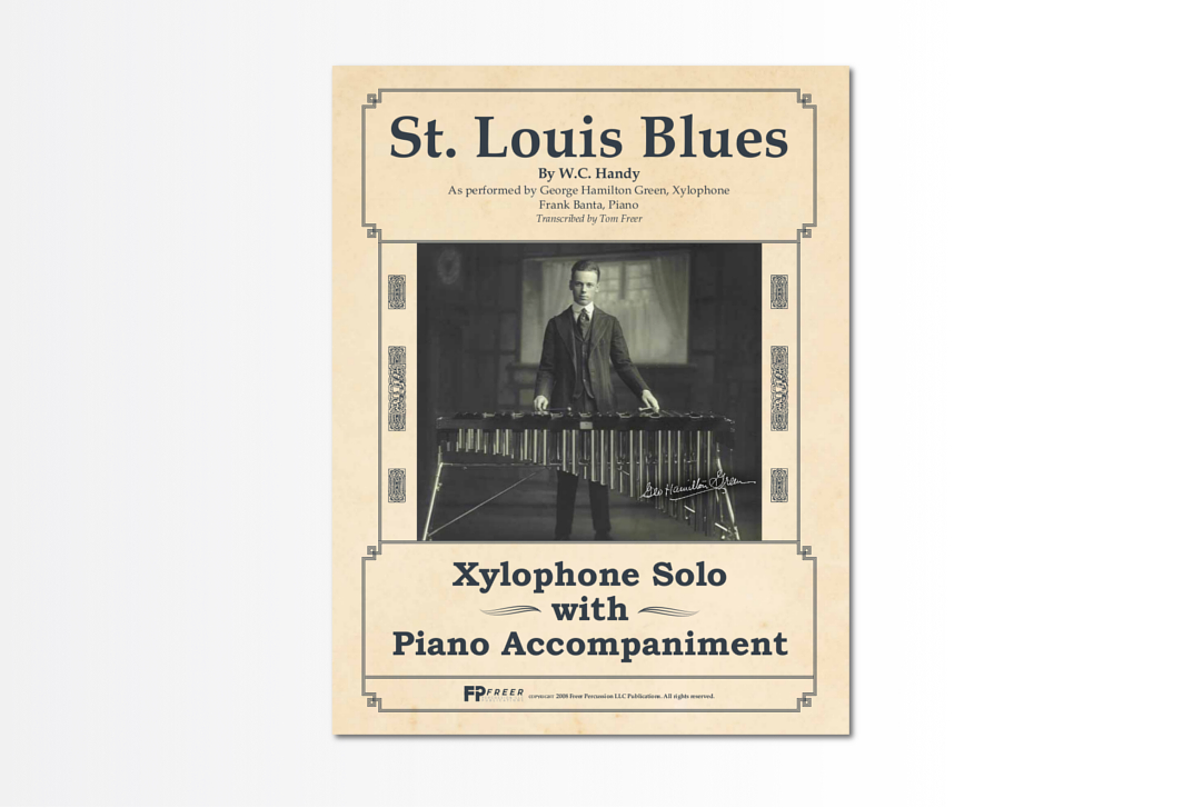 St  Louis Blues - Xylophone Solo With Piano Accompaniment